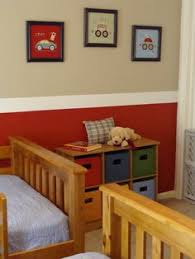 room paint red: thinking of doing this for hudsons new room only the red would be a