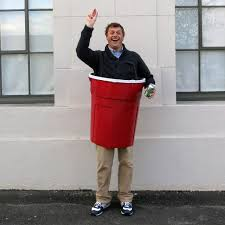 picture of solo cup beer pong costume