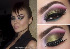 new wave meets arabic makeup tutorial