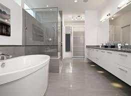 modern bathroom tile gray. Appealing Bathroom Tile Design For Bathing Inspiration Styles : Polsihed Modern In Grey With Elegant Gray T
