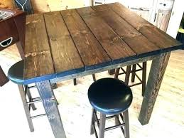 diy pub table pub table pub table plans full image for patio bar height table outdoor