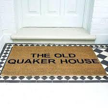 monogram outdoor rug monogrammed doormat oversized door mats front door carpet mat outdoor design group delaware