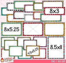 Stripe Templates Funky Stripe Task Card Templates Clip Art By Littlered Tpt
