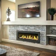 indoor electric fireplaces fireplace insert with faux stone surround