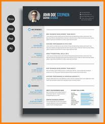 Pink Resume Template Vector Free Download New Downloadable Templates