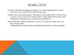 thesis statements what is a thesis statement a thesis statement  10 thesis statement examples to inspire your next argumentative essay kibin blog