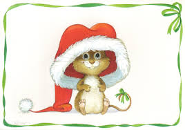 The Christmas Mouse - Other & Abstract Background Wallpapers on ...