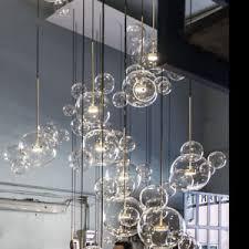 Bubble light chandelier Nepinetwork Image Is Loading Mickeybubblependantlightchandelierledlightingglass 1stdibs Mickey Bubble Pendant Light Chandelier Led Lighting Glass Ceiling