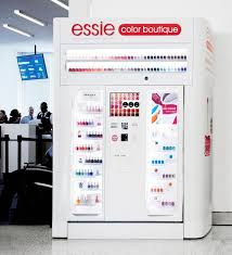 Vending Machine Trends Stunning Essie To Launch Vending Machines At Airports And Malls Fashion