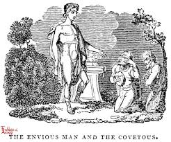 greed and jealousy fables of aesop