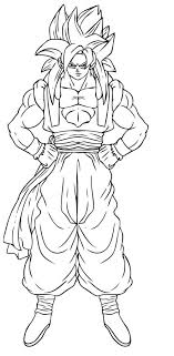 Small Picture Broly Coloring Pages Dragon Ball Gt Vegeta Coloring Pages Inked