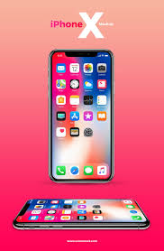 Flyer Design Free Free Iphone X Mockup With 2 Angles Iphone X Mockups Mockup Free