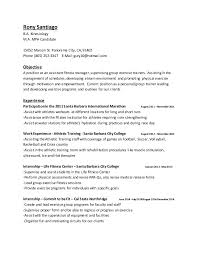Rony Santiago B.A. Kinesiology M.A. MPH Candidate 15052 Marson St. Panorama  City, CA, ...