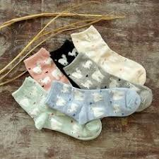 Women Cute Thick Fuzzy Animal Short Ankle <b>Socks Hosiery</b> Candy ...