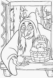 1001 Kleurplaten Fantasie Heksen Kleurplaat Heks