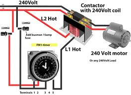 how to wire timers intermatic fm1 timer