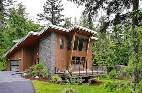 Small Picture Modern Cabin Design With Modern Cottage House Design At The Base