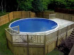 Above ground pool deck Backyard Above Ground Pool Decks With Slide Wikihow Design Deck Above Ground Pool Decks Veterans Against The Deal