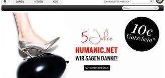 Humanic gutschein 10 euro