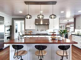 pendant lighting over island how many pendant lights should be used over a kitchen island regarding