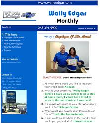 Employee Of The Month Free Online Wally Edgar Chevrolet Newsletter Chevy News Near Troy Mi