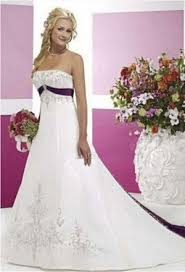 white and purple wedding dress rosaurasandoval com