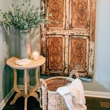 Old Door Decorating 20 Vintage Decorating Ideas Inspired By Chip And Joanna Gaines