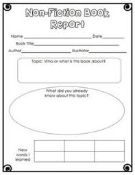 free nd grade book report template yahoo image search results best biographies for kids in grades