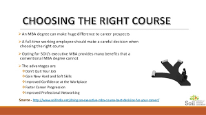 Best Jobs For Mba Doing An Executive Mba Course Best Decision For Your Career