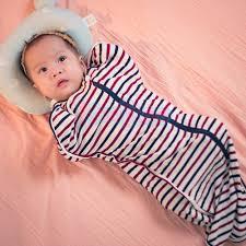 Túi ngủ cho bé KooKoo - Màu kẻ đỏ đô - KooKoo