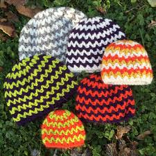 Free Crochet Hat Patterns For Toddlers Adorable Free Crochet Pattern Quick And Simple Chevron Hats Preemie