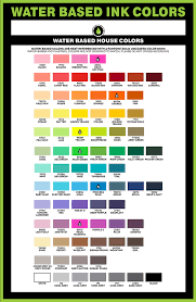 Screen Printing Ink Color Mixing Chart Best Picture Of