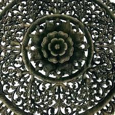 carved wood wall art decor medallion elegant panels decorative wood medallion wall