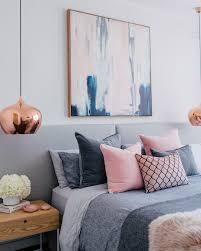 Schlafzimmer Bedroom Copper Kupfer Rosa Grau Bedroom