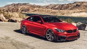 Ferrada Red Matte BMW M4 5K Wallpaper ...