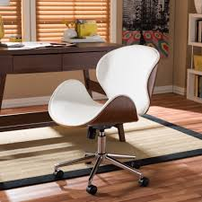 modern office chair.  Office Shop Carson Carrington Nybro Walnut Wood Modern Office Chair  Free  Shipping Today Overstockcom 22727197 In