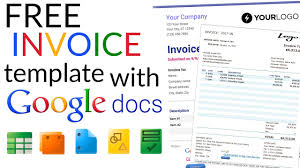 Create An Invoice Free Free Invoice Template How To Create An Invoice Using Google Docs 11