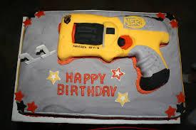 Nerf Gun Cake CakeCentral
