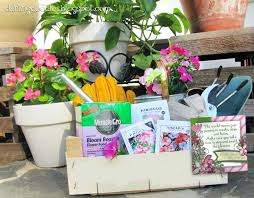 cute gardening tools darling doodles a gardening themed gift basket i love this so perfect