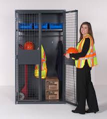 wirecrafters industrial storage locker with equipment metal storage cabinet doors96 cabinet