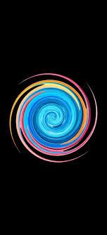 Swirl Cool Amoled iPhone 4K Wallpapers ...