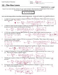boyle s law worksheet word acrobat and answers gif