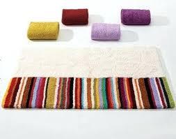 striped bath rug abyss bath mat rug gray striped bath mat
