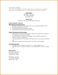 icu nurse resume sample