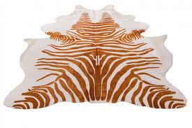 william sonoma zebra cowhide rug