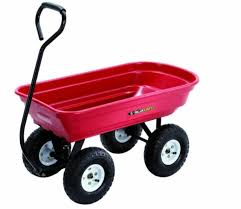 gorilla carts 400 lb poly wagon garden yard cart utility heavy duty lawn outdoor