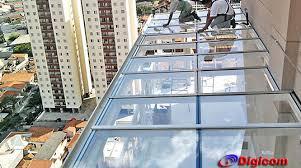 Encontre cobertura de vidro laminado em segunda mão a partir de r$ 10. Cobertura De Vidro E Aluminio Vila Carrao Digicom Coberturas