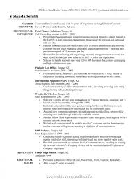 Professional Customer Service Representative Resume Examples Resume