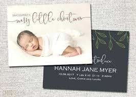 Christmas Birth Announcement Ideas Christmas Card Birth Announcement Birth Announcement Holiday Card