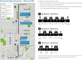 Sdot Org Chart 35th Ave Ne Safety Changes Still On Track How Can The City
